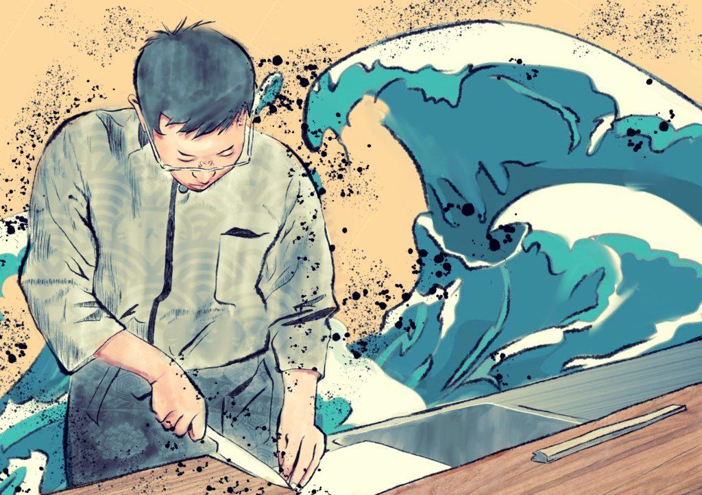 デジ絵で作る 浮世絵風イラストの描き方 C Vlog